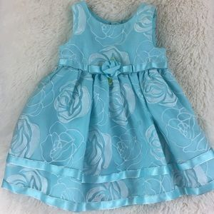Other - Blue and White Floral Dress Size 24 Months NWOT 💙